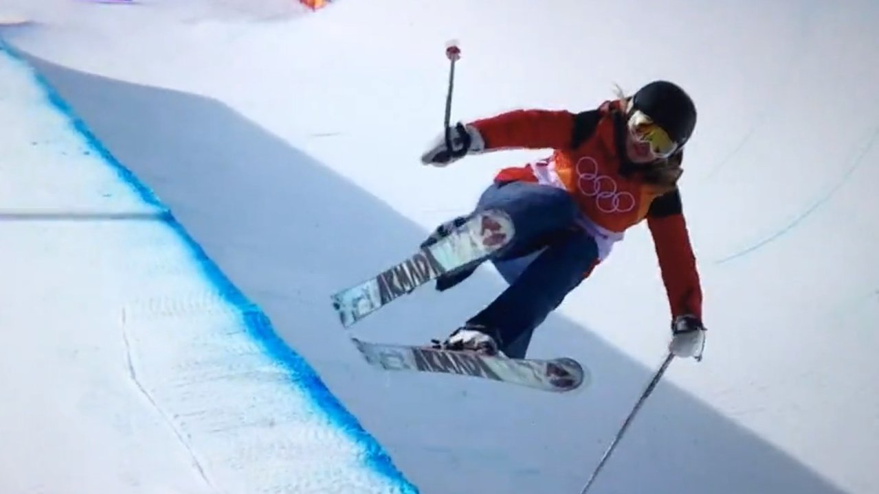After Olympics Halfpipe Run, Armada Decides To Pay Elizabeth Swaney To Ride Other Skis