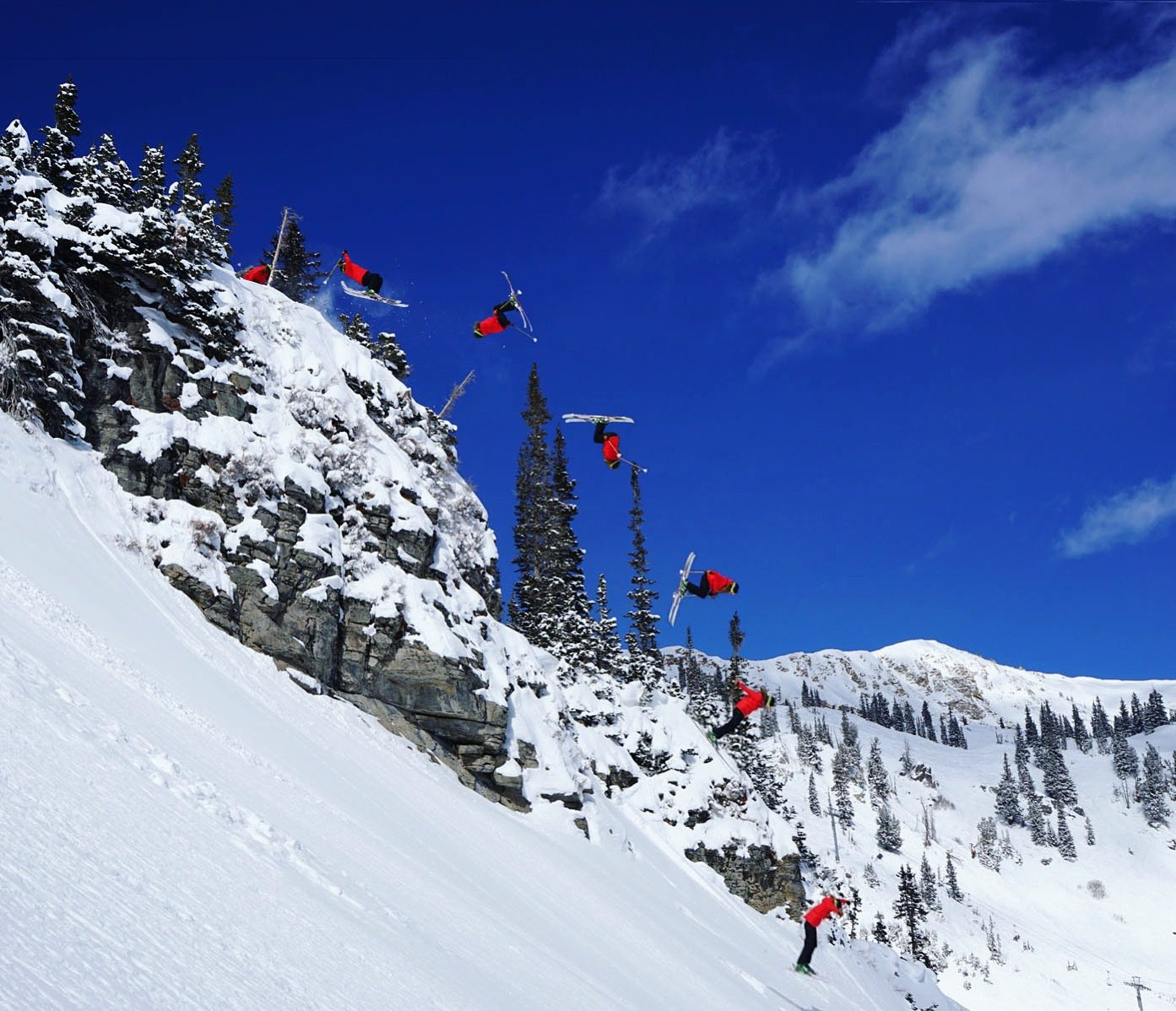 Sequence at Snowbird