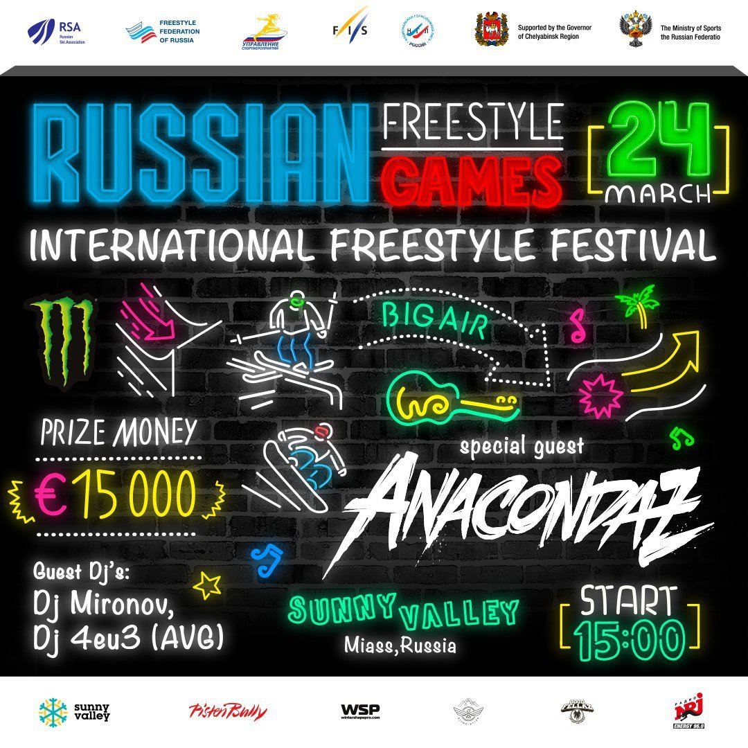 Russian Freestyle Games 2018