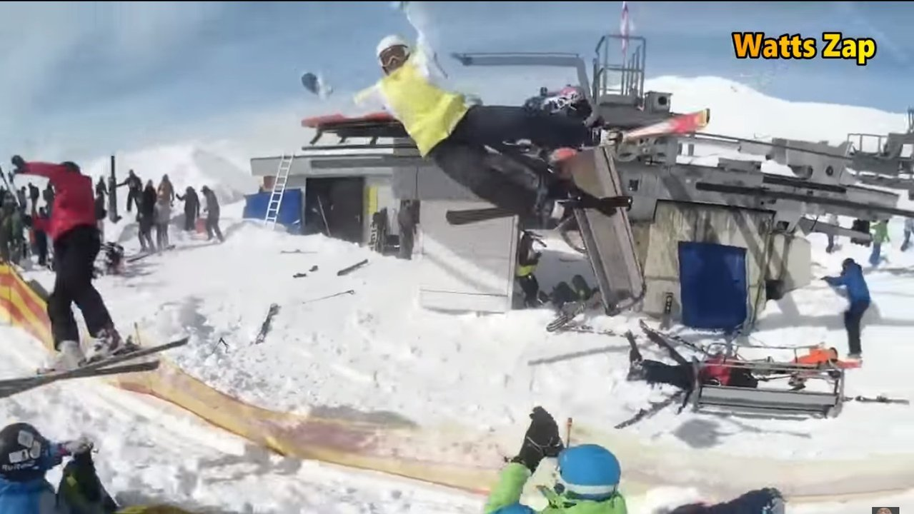 Nightmare Chairlift Accident Injures Several In Georgia
