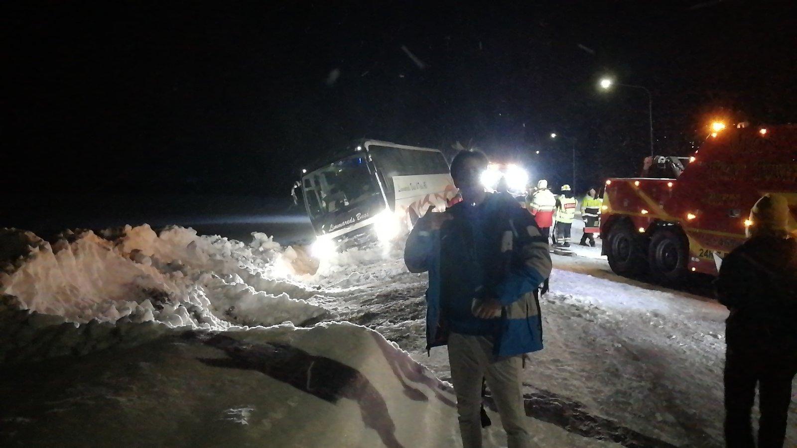Buss crash