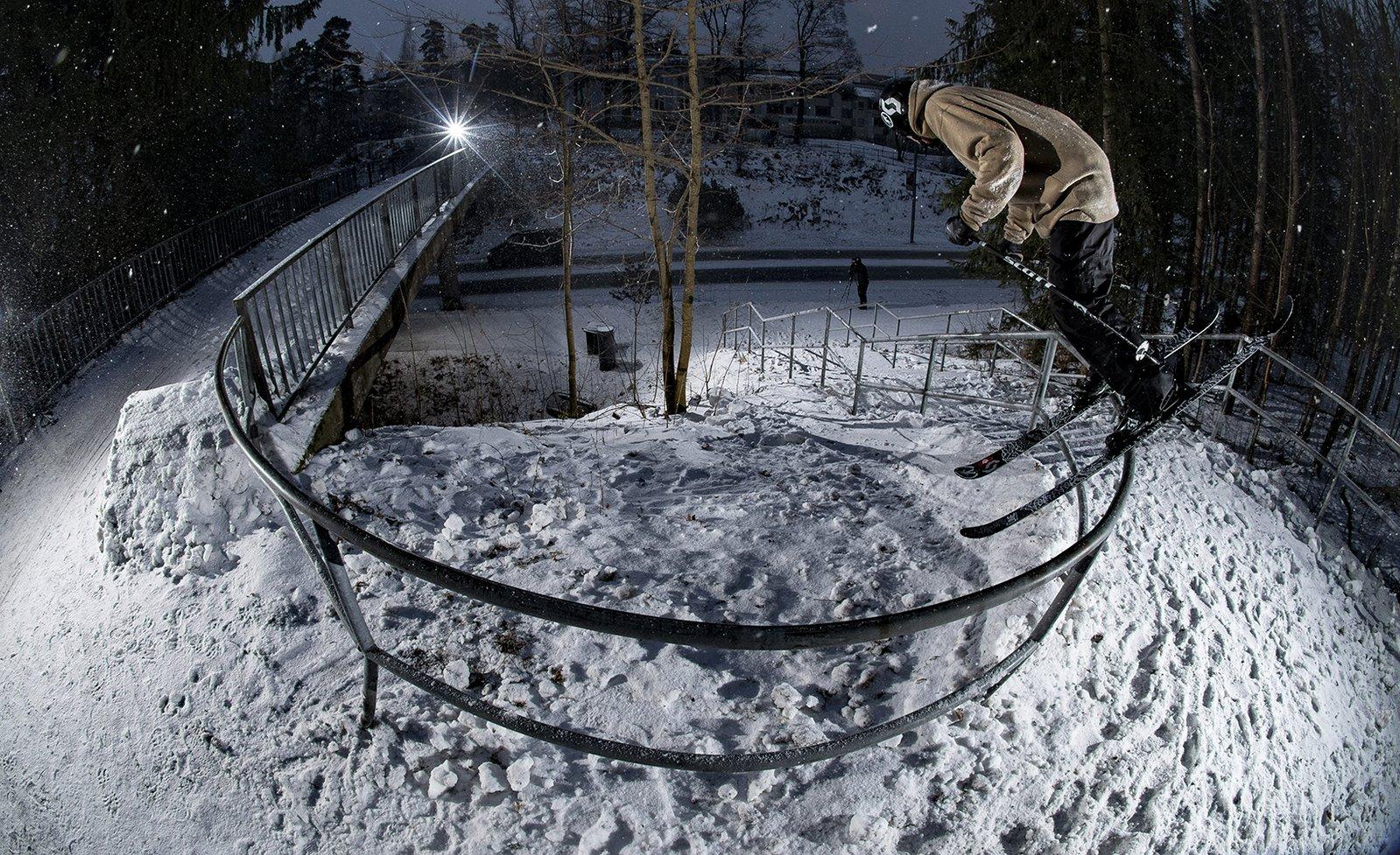 Will Wesson @ C-rail Quad kink, Espoo