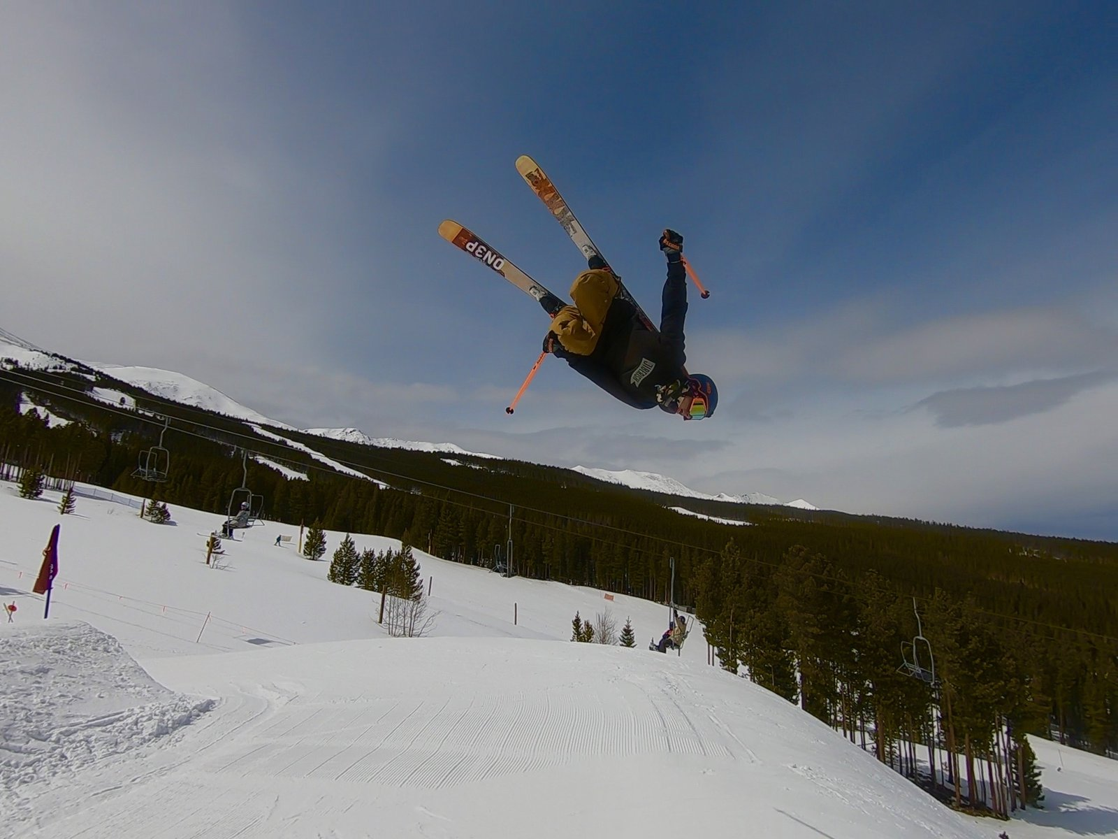 Laid out at breck