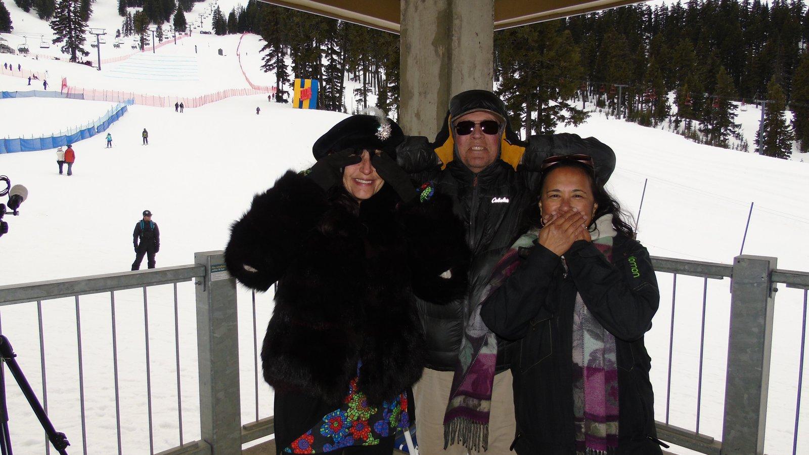 Mama Mango, Papa Hess & Mrs. Dominator Jacques at Hella Big Air 2018