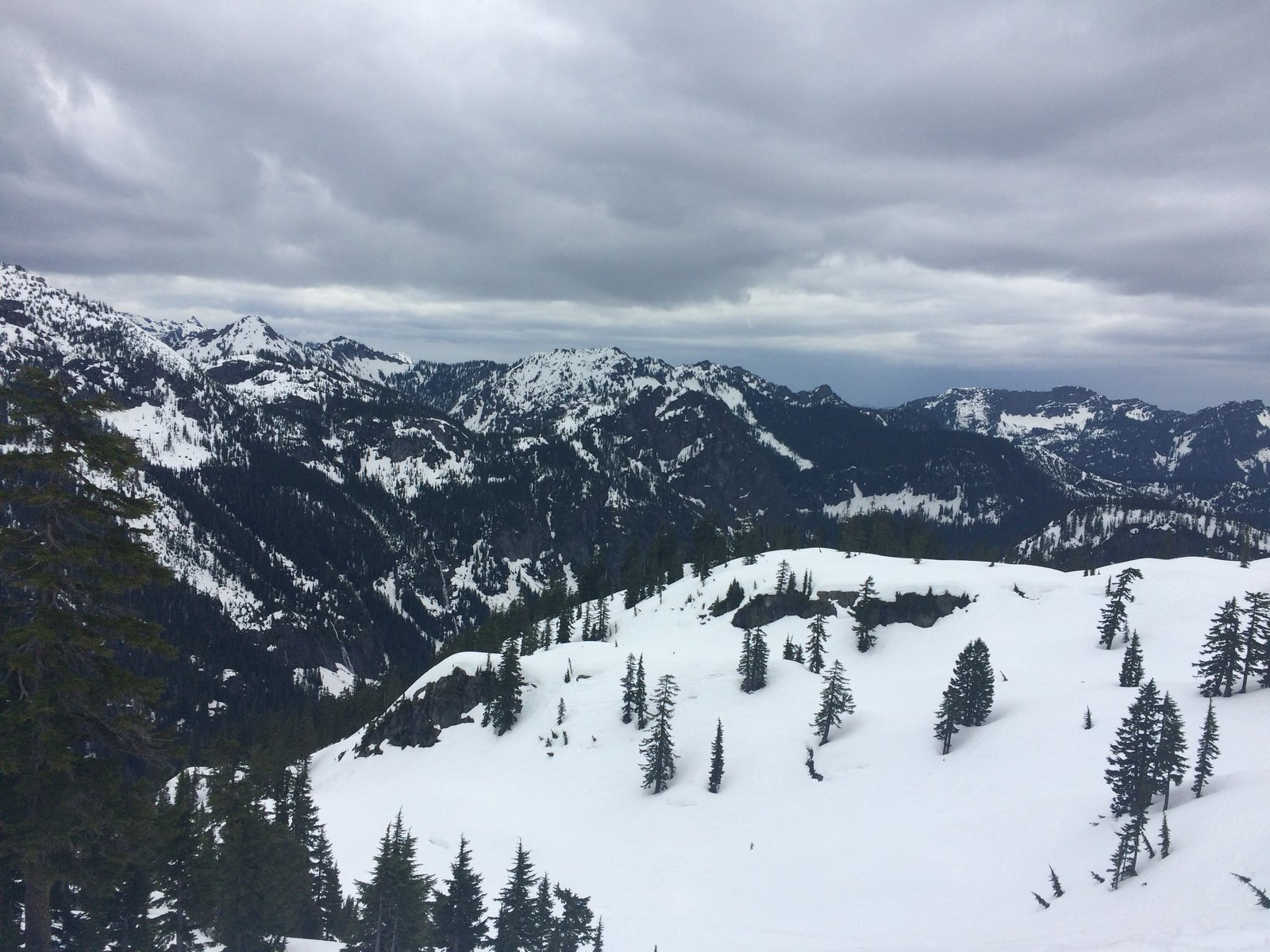 overview @ Alpental #BC