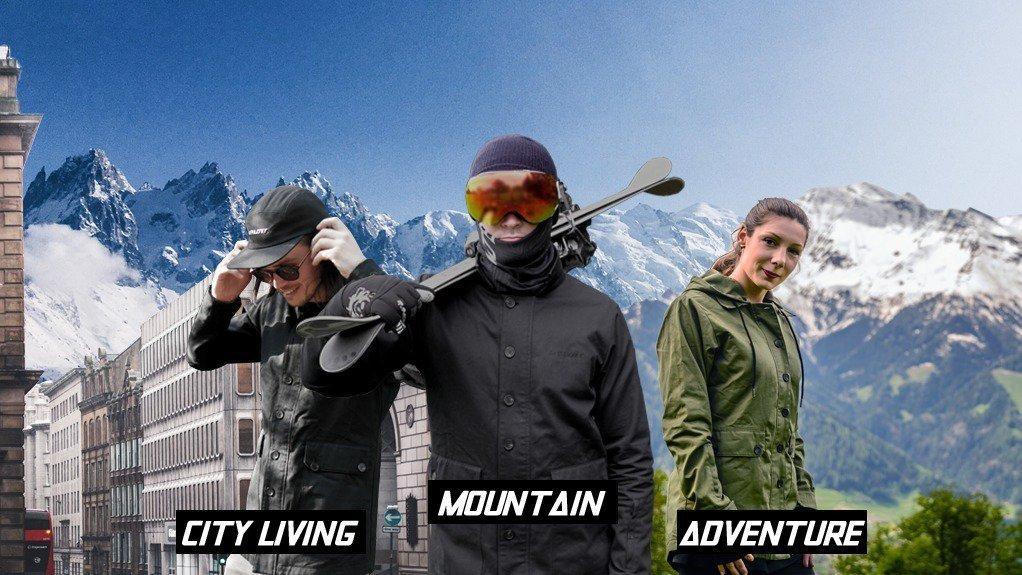 Non Plastic Ski Jackets