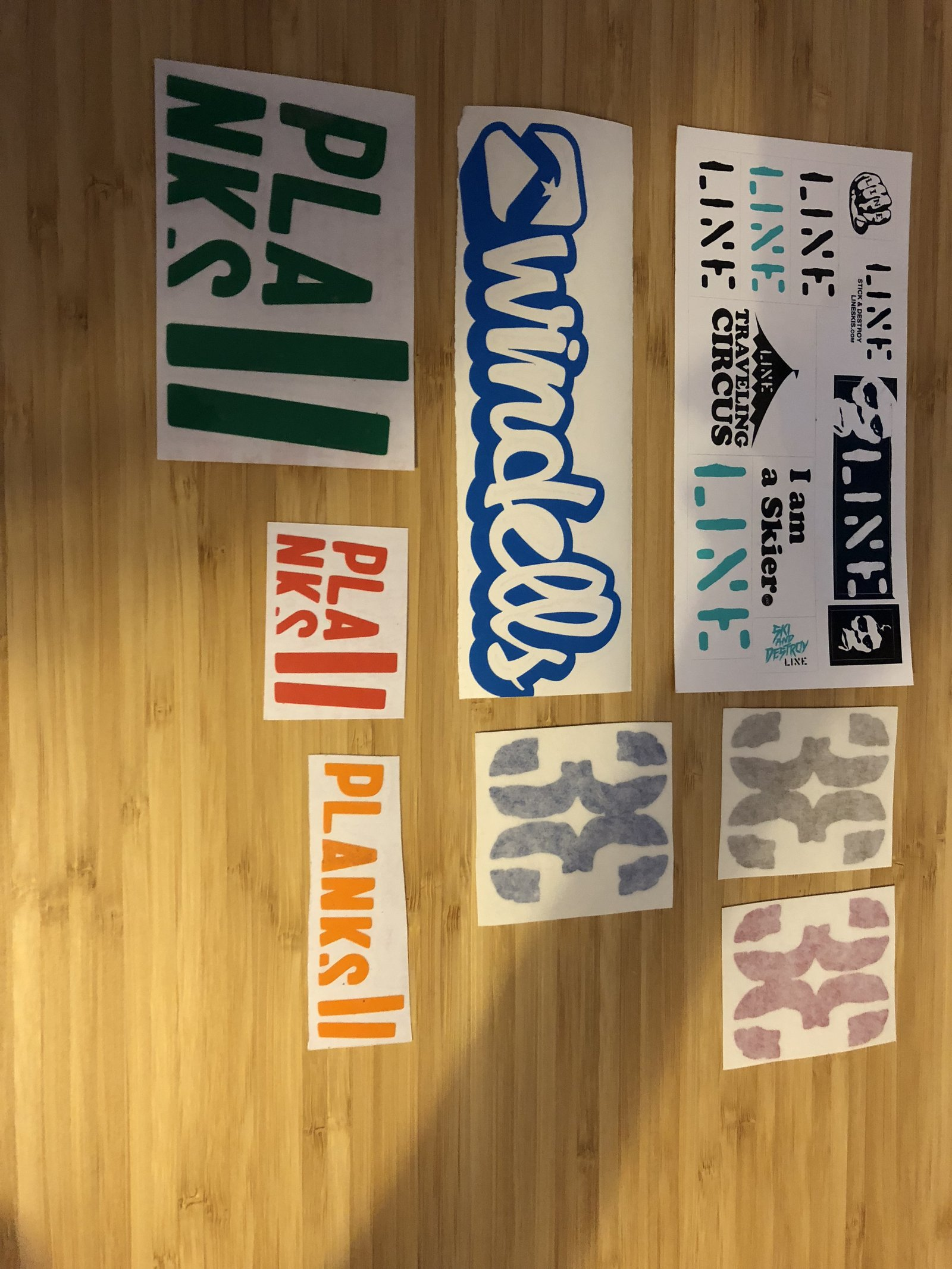 Stickers for s.j.mitchell