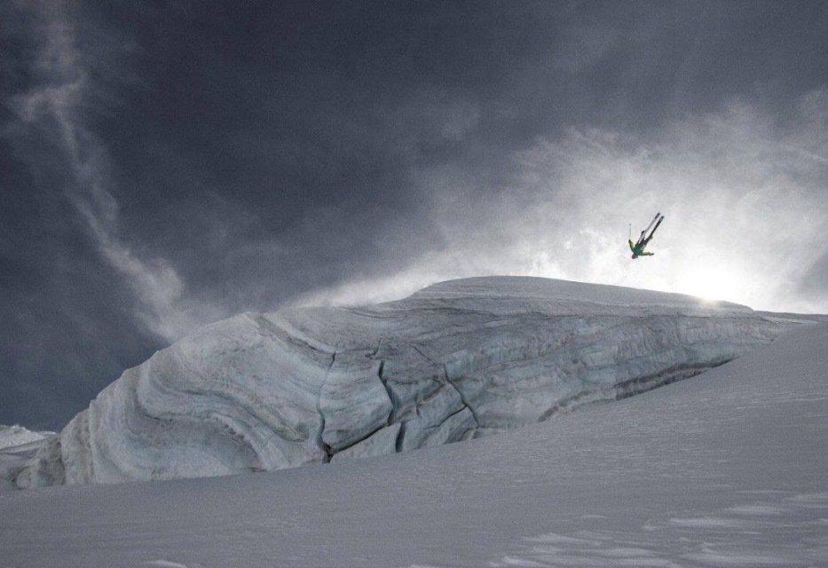 Zermatt Glacier Cliff
