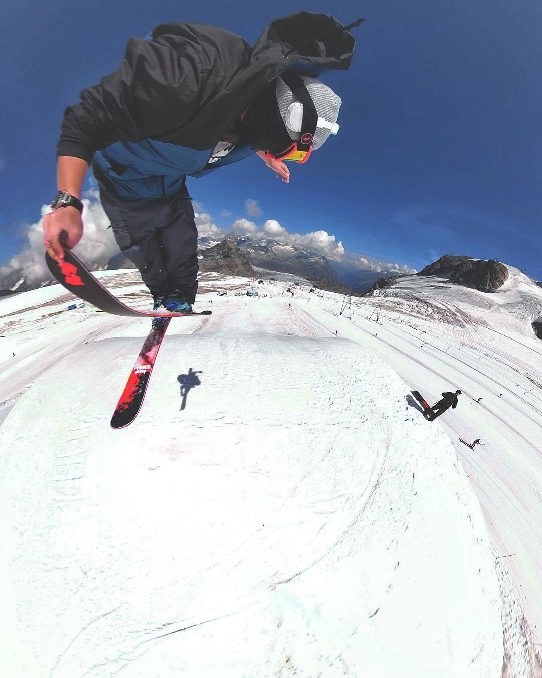 Andrew Anufriev in Zermatt