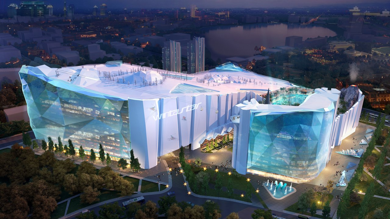 World's Largest Indoor Ski Resort Being Built In China