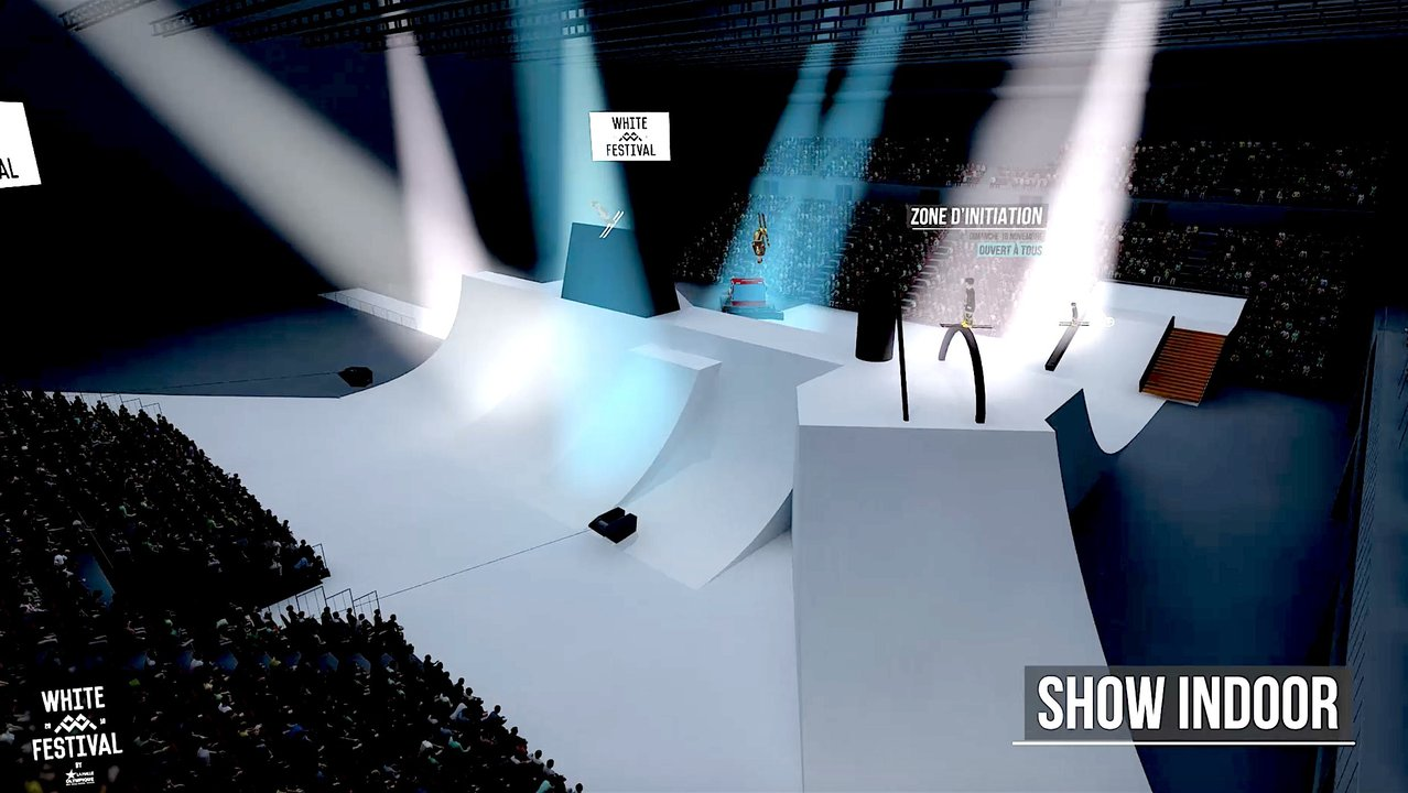 The White Festival: Skiing's First Indoor Stadium Event
