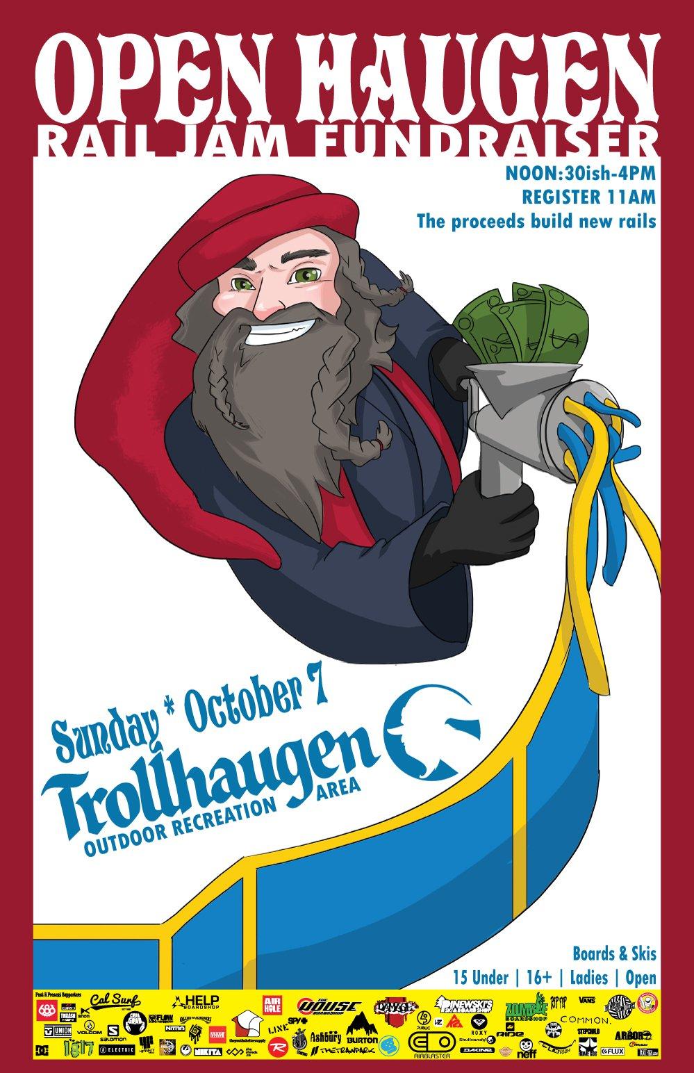 Trollhaugen's Open Haugen Pre-Season Jam
