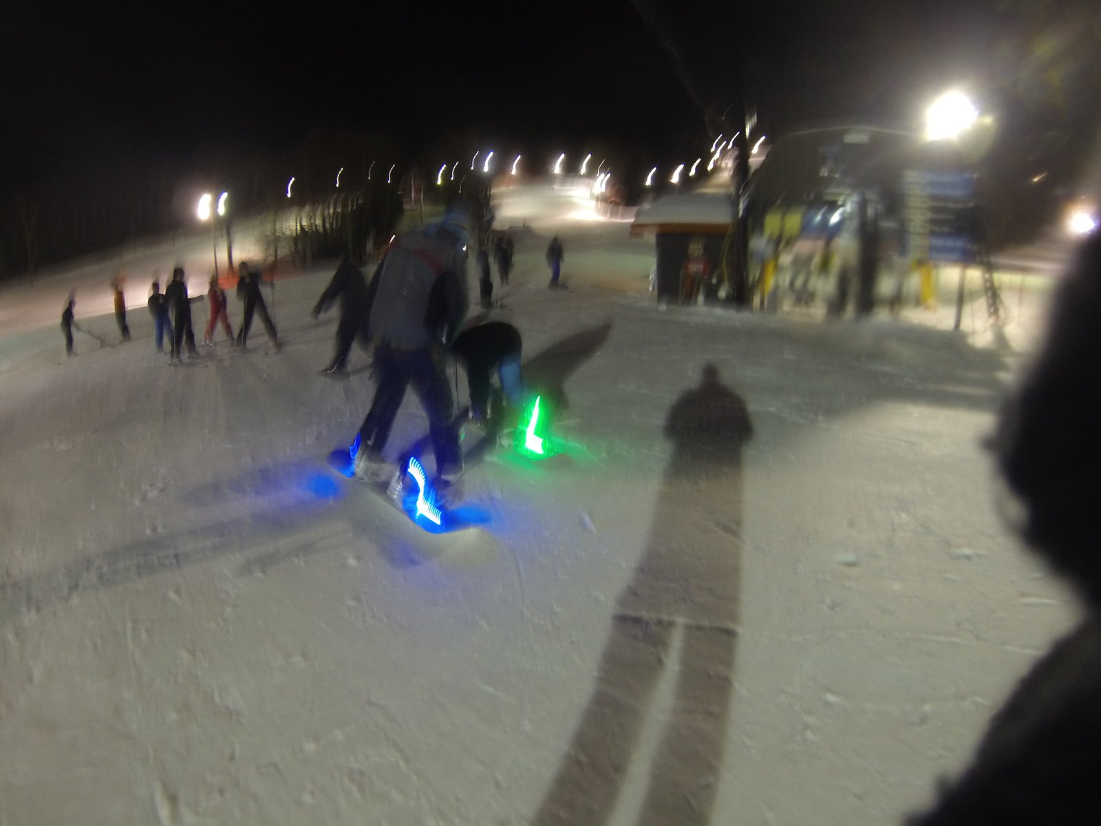 Ready to hit the slopes with latest Third Kind snowboard/skii lights