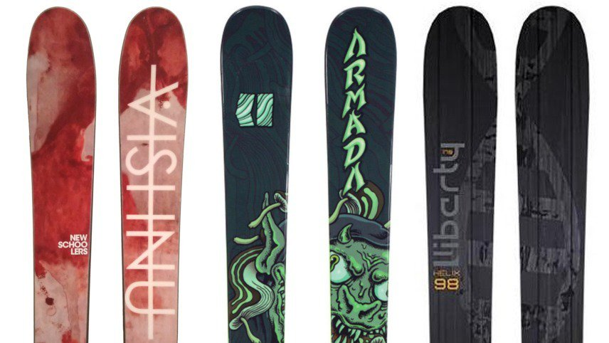 Newschoolers Editors' Picks: Best Park Skis 2018/2019
