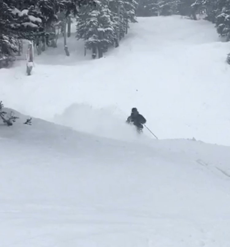 First pow shot of the year