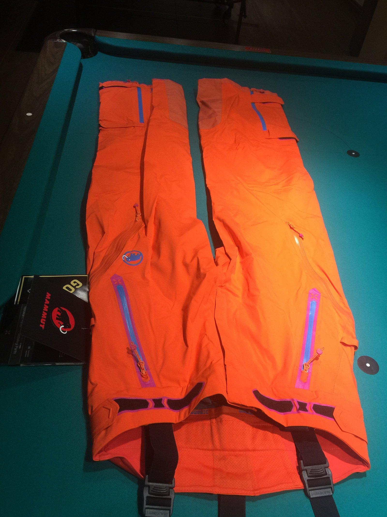 Mammut Mittellegi women's pants M