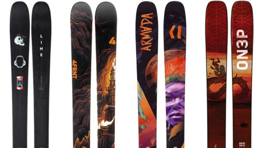 Newschoolers Editors' Picks: Best All-Mountain Skis 2018/2019.