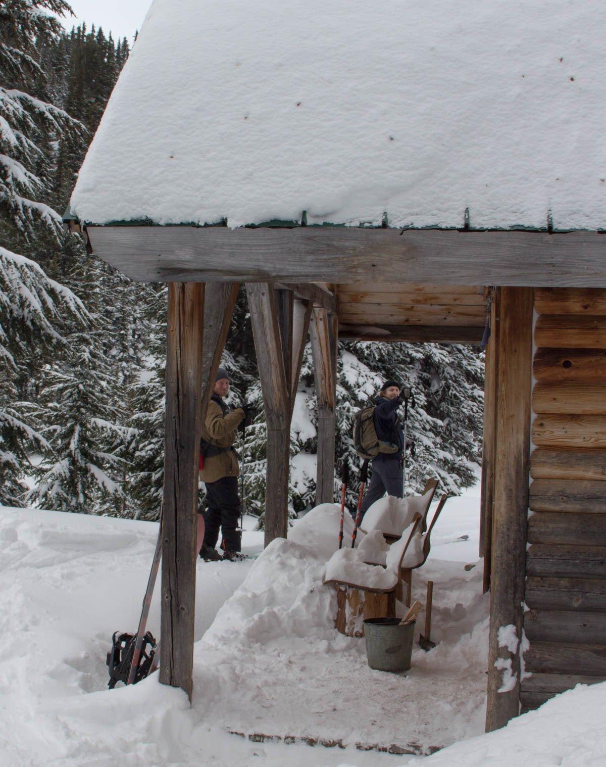 Keith's hut trip