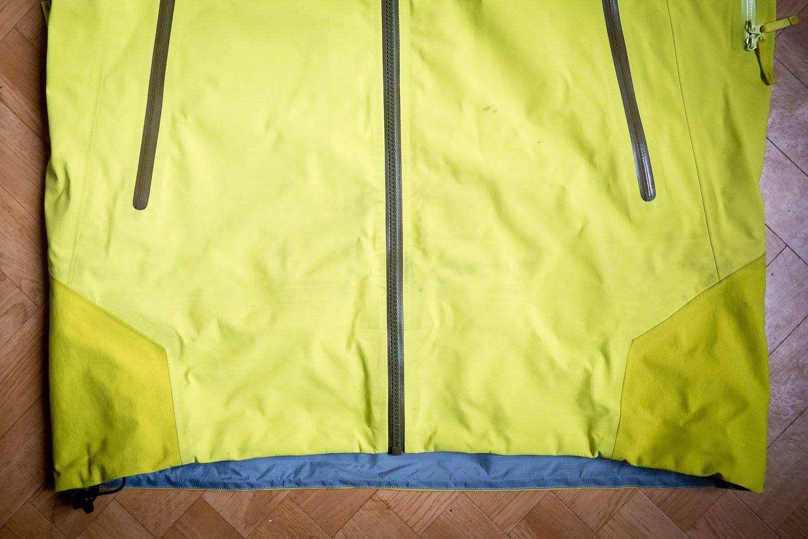 Arcteryx jacket detail