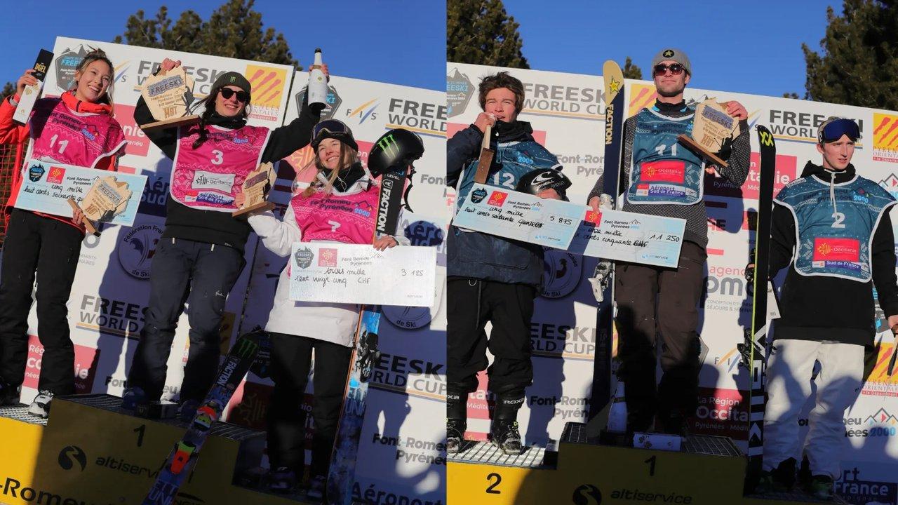 Results + Top 3 Runs: Font Romeu Slopestyle World Cup