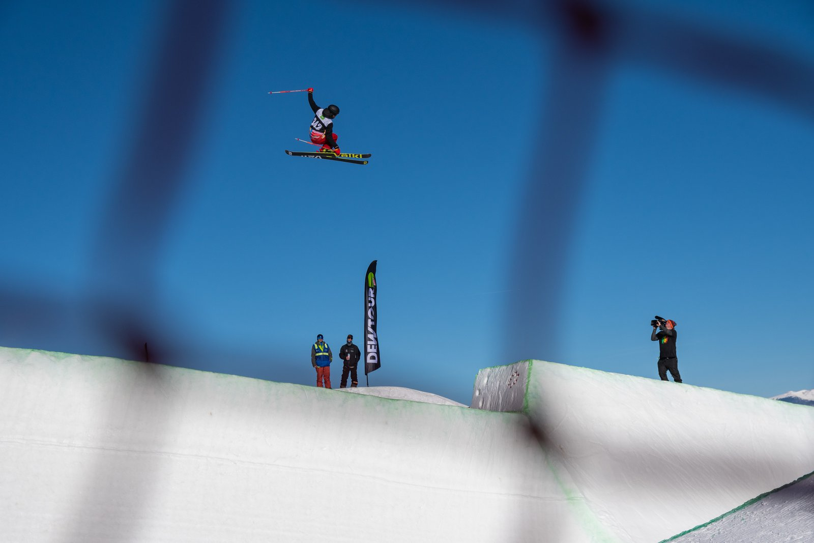 Dew Tour pipe 2018