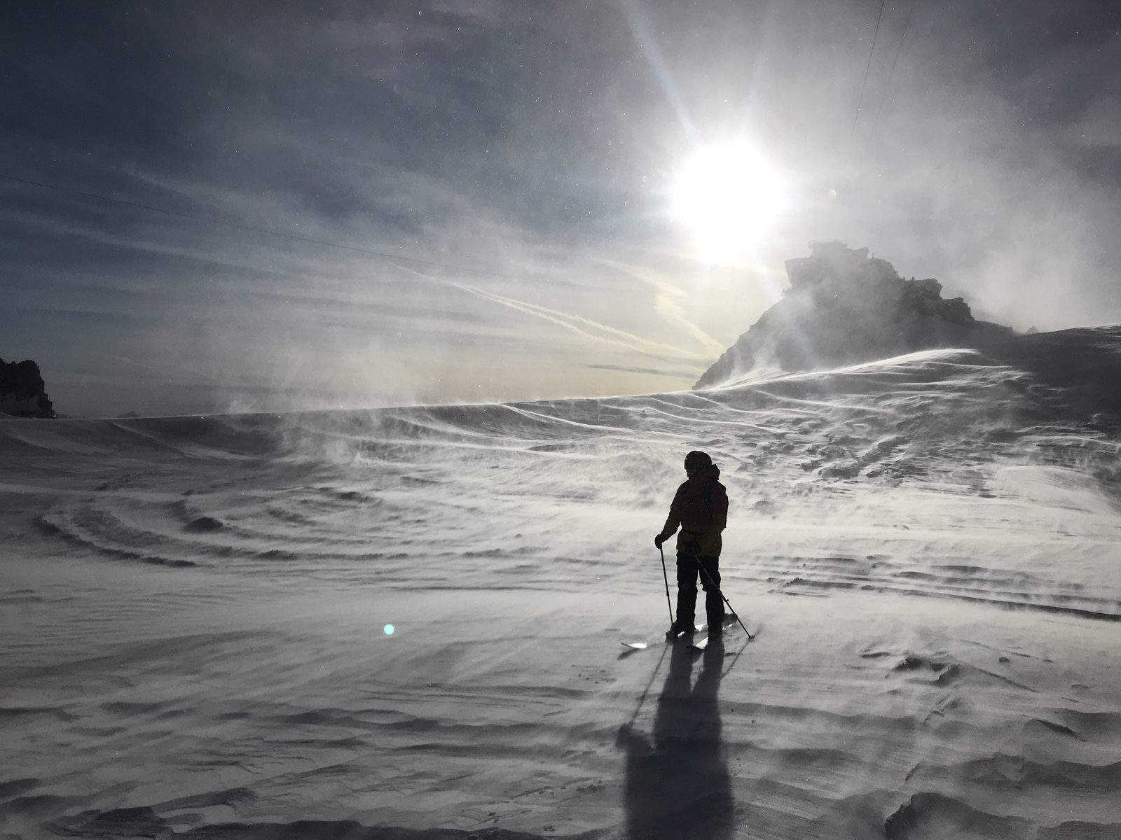 Glacier Runs - Vertical Drop