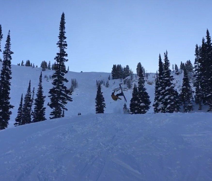 Best jump at Alta