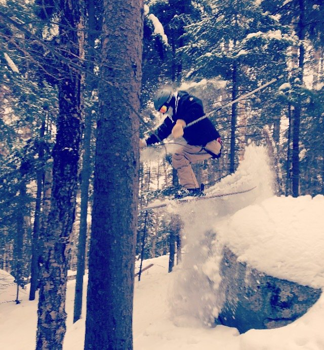 Some rock n tree shreddin