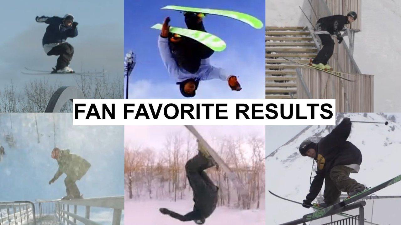 X Games Real Ski Fan Favorite Results