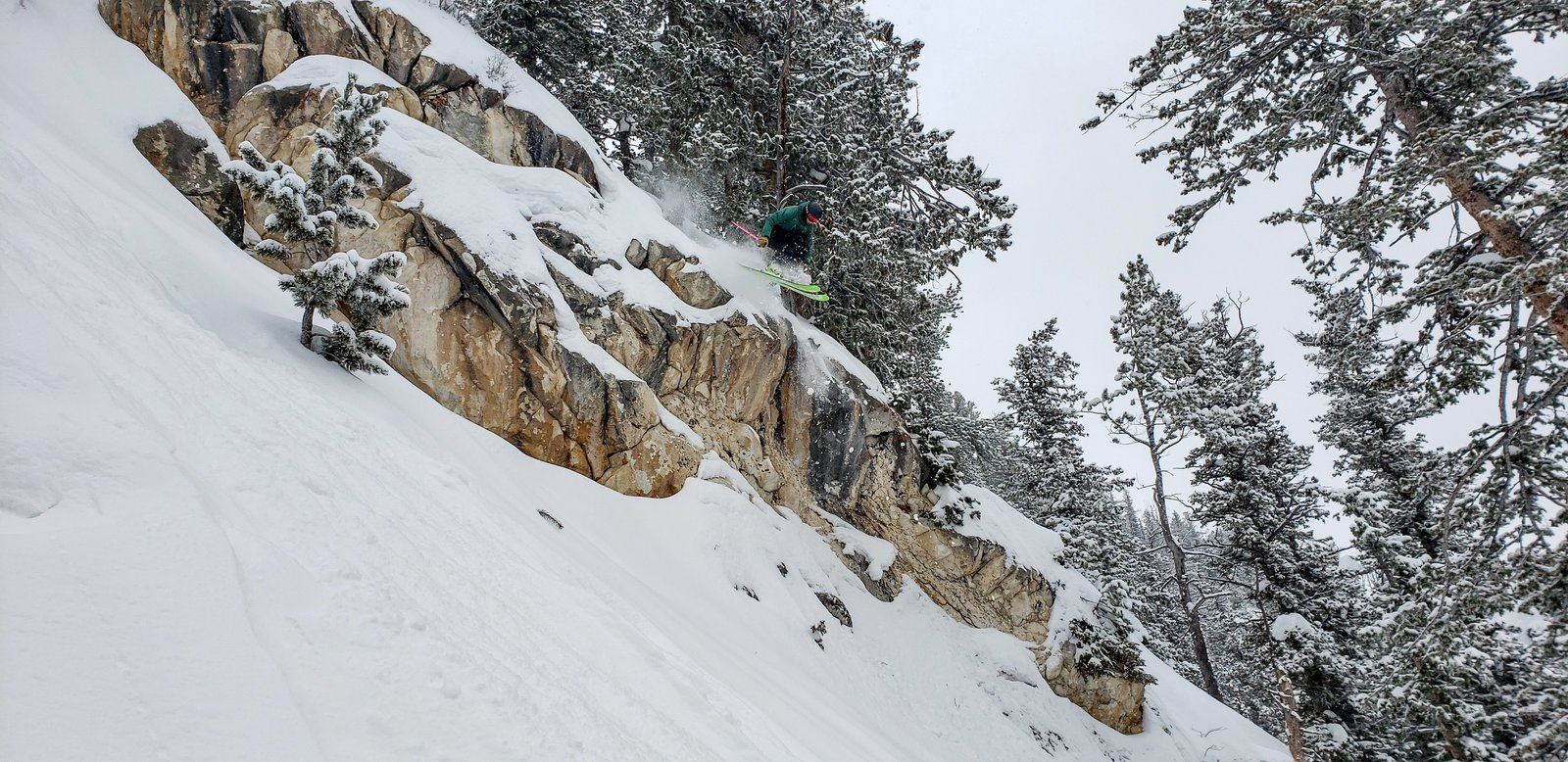 Canaveral Cliff in the Steep and Tall's at Solitude