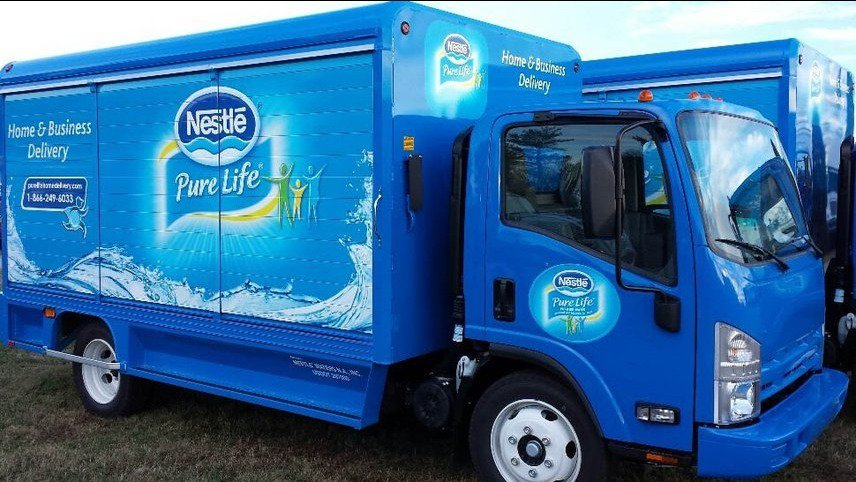 Nestle Drains Local Pond Skim For New Bottled Water Brand