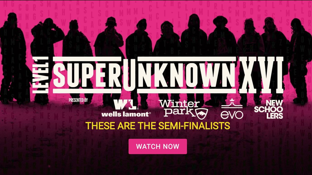 SuperUnknown XVI Semi-Finalists: Out Now