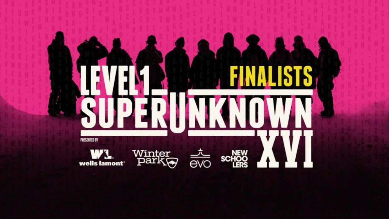 SuperUnknown XVI Finalists: Out Now