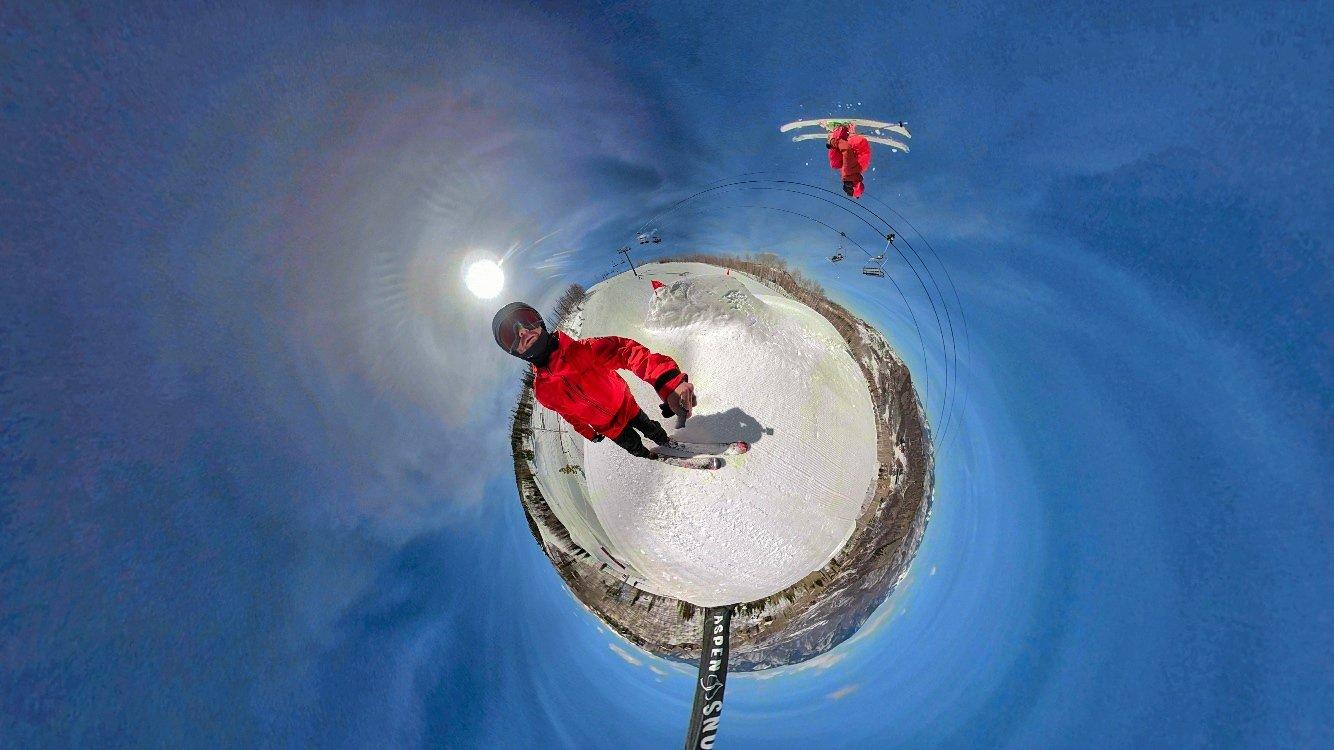 Backflipping Snowmass Jumps