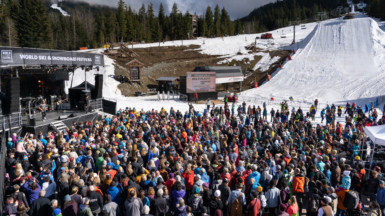 67 ARTISTS, 1000+ CONCERT-GOERS AND SEVEN ADVENTURERS USHER IN WHISTLER'S WORLD SKI AND SNOWBOARD FESTIVAL