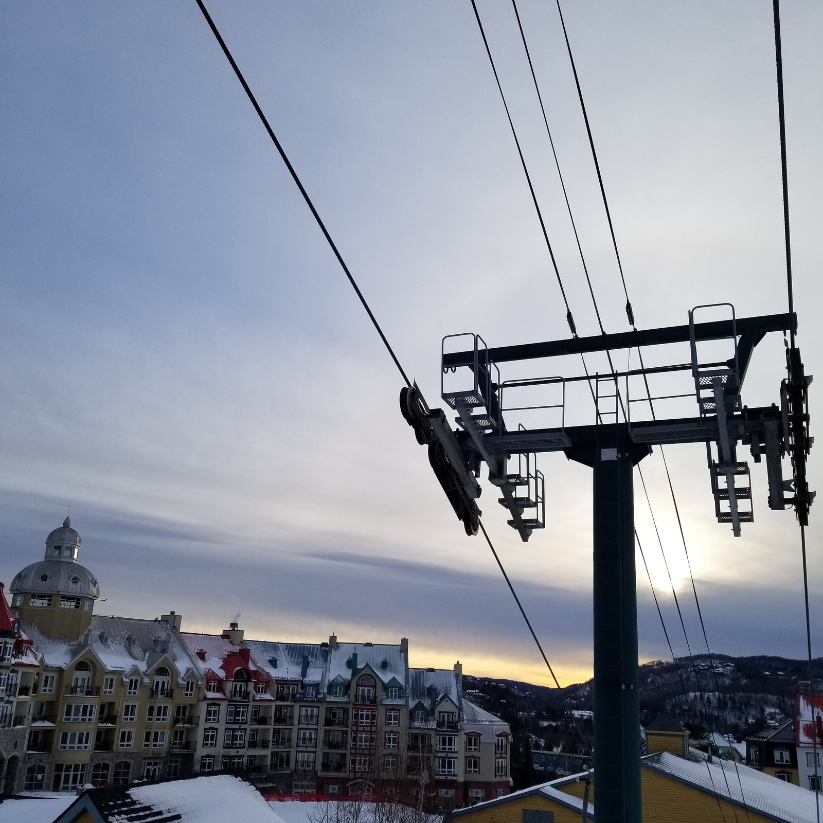 Sundown at Tremblant