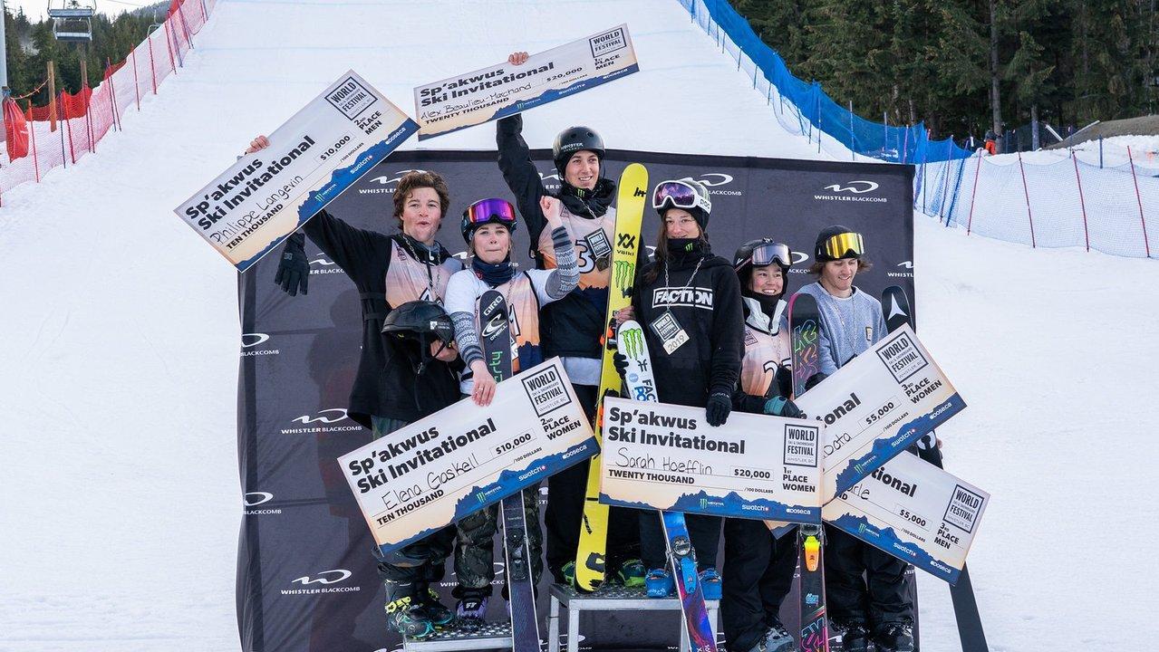 WSSF Sp'akwus Ski Big Air Results