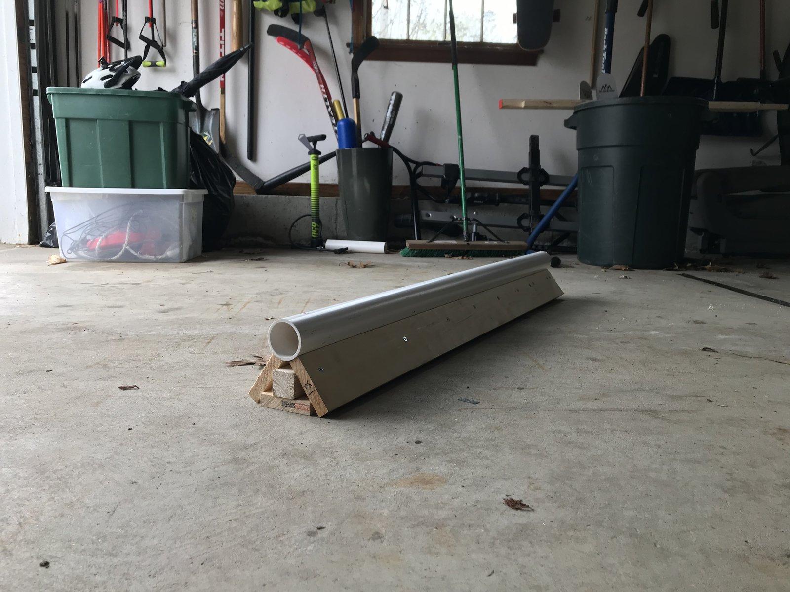 Homemade PVC Jib Rail