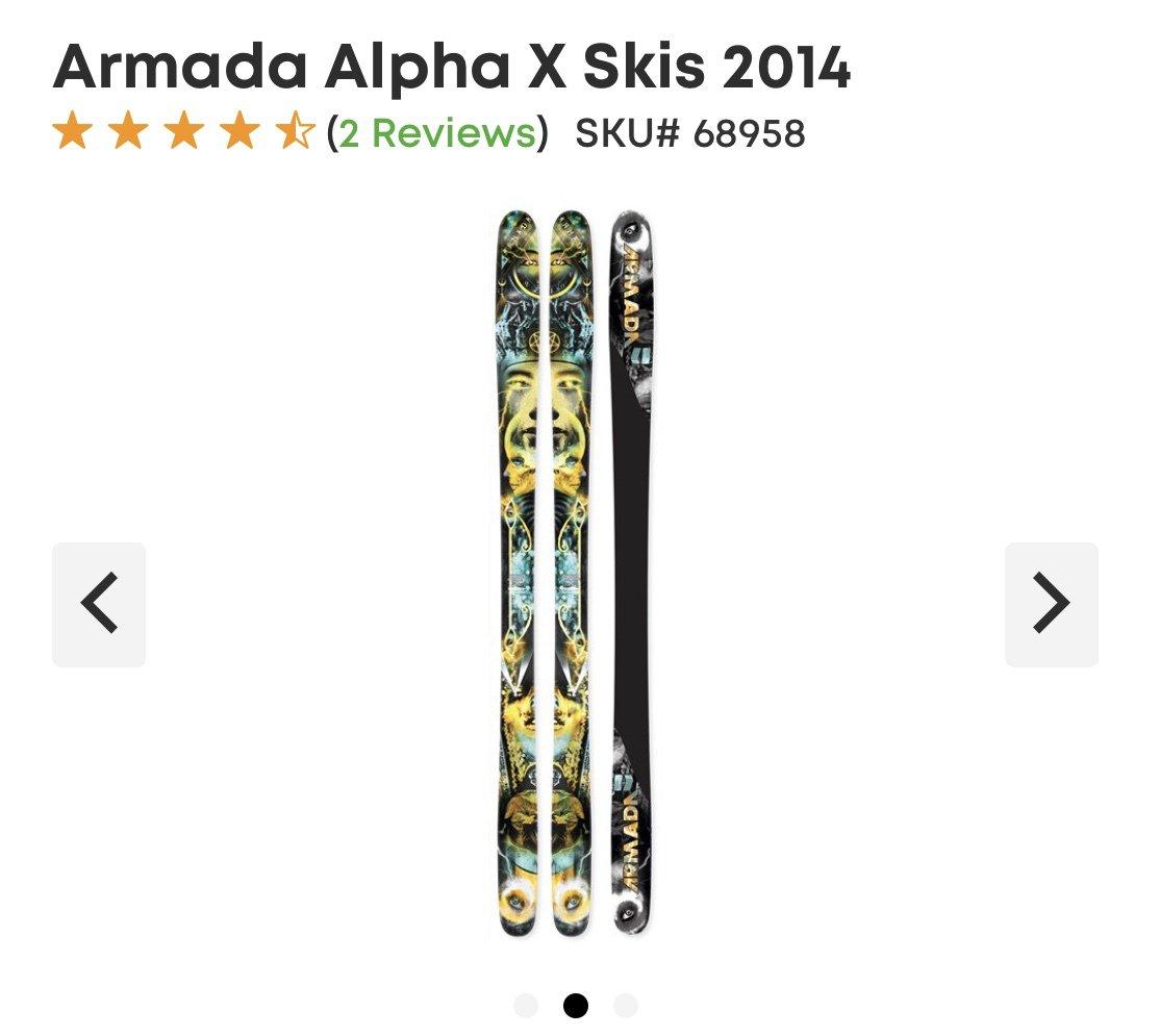 WTB: Armada Alpha X 2014 Ski
