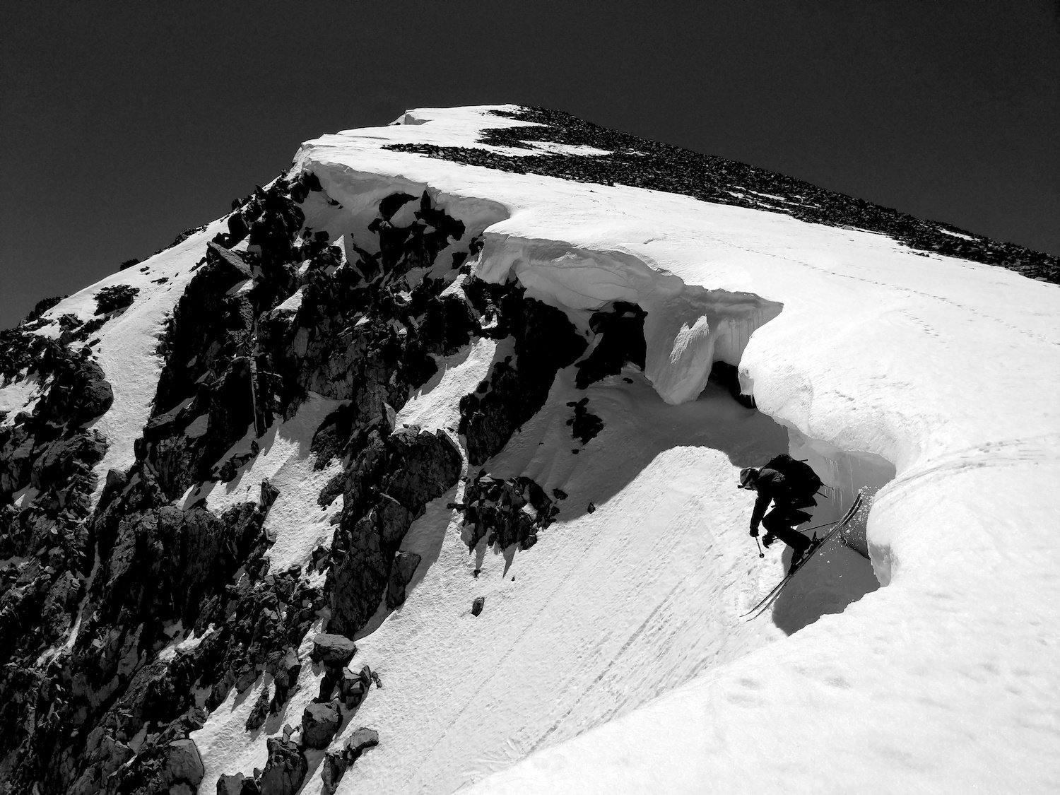Solstace Couloir: Tioga Pass Ca June 12