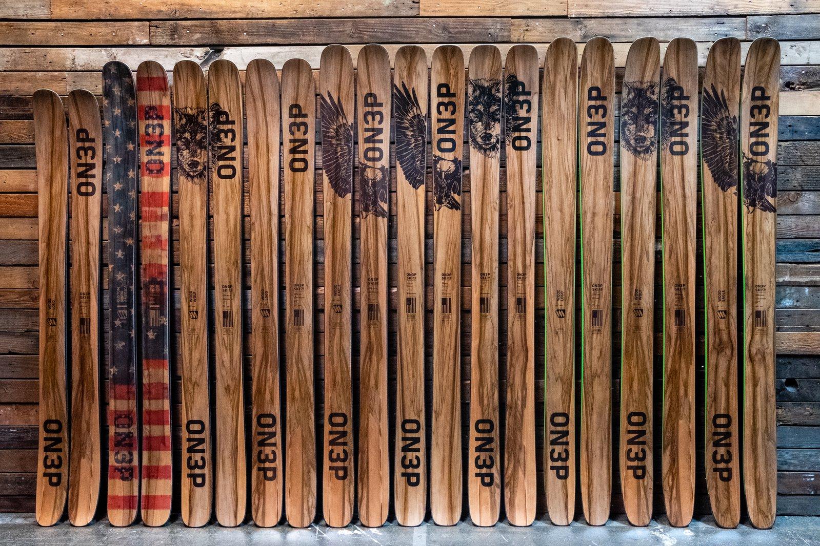 Skis on Wall