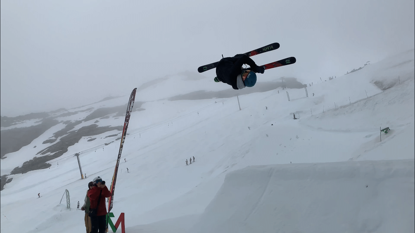 ended up doing a misty on snow before a backflip. ¯\_(ツ)_/¯