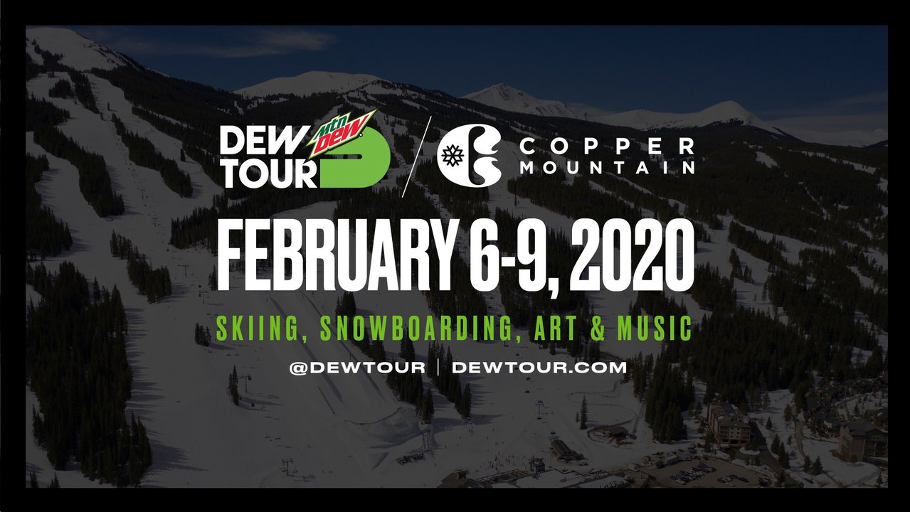 WINTER DEW TOUR ANNOUNCES NEW PARTNERSHIP WITH COPPER MOUNTAIN FOR 2020 & 2021
