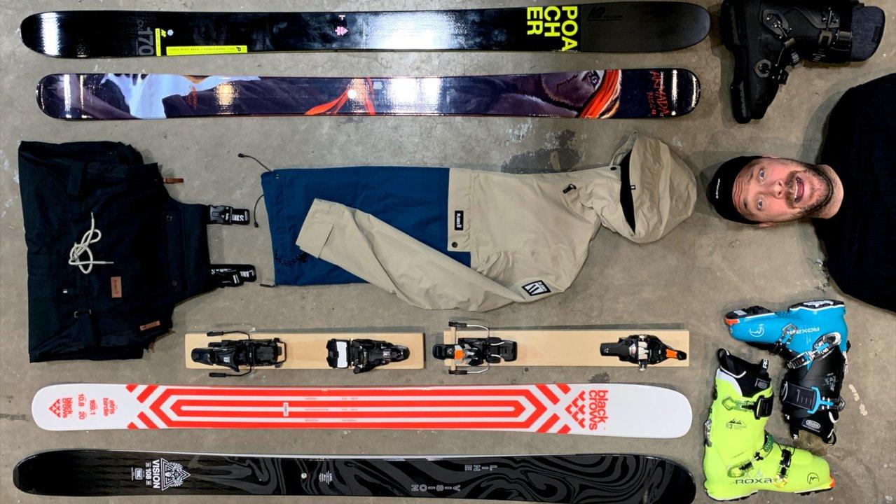 Phil Belanger's 19-20 Ski Gear Picks | Presented by D-Structure