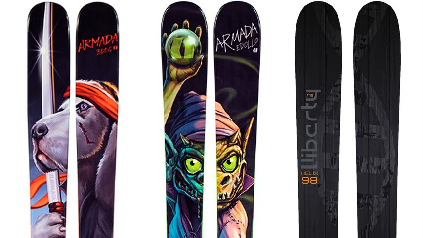Newschoolers Editors' Picks: Best Park Skis 2019/20