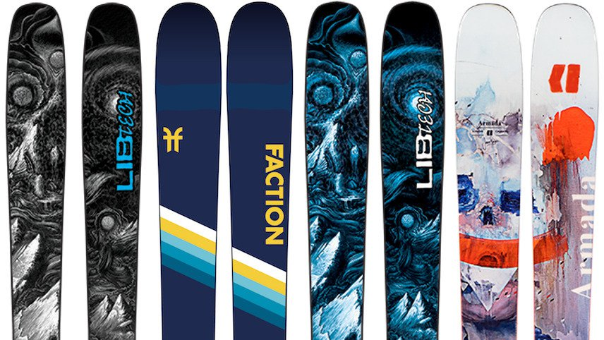 Newschoolers Editors' Picks: Best All-Mountain Skis 2019/20