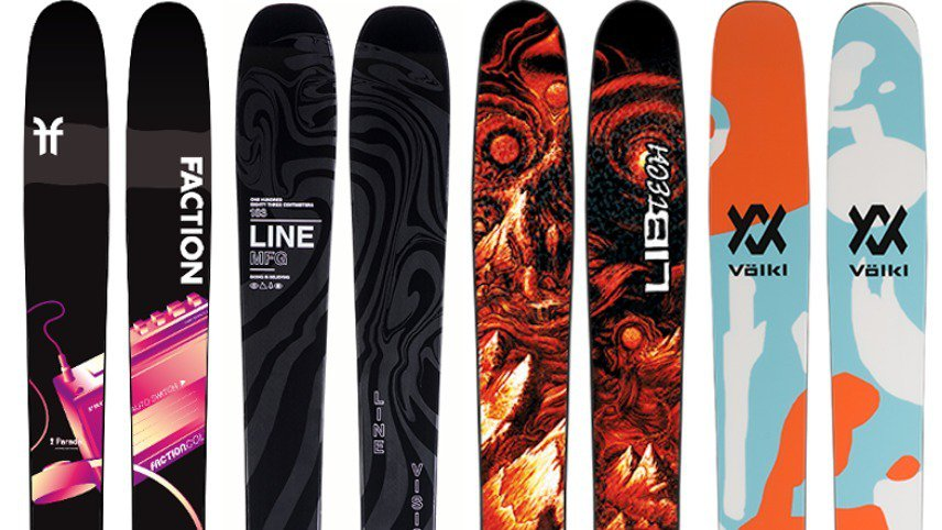 Newschoolers Editors' Picks: Best Powder Skis 2019/20