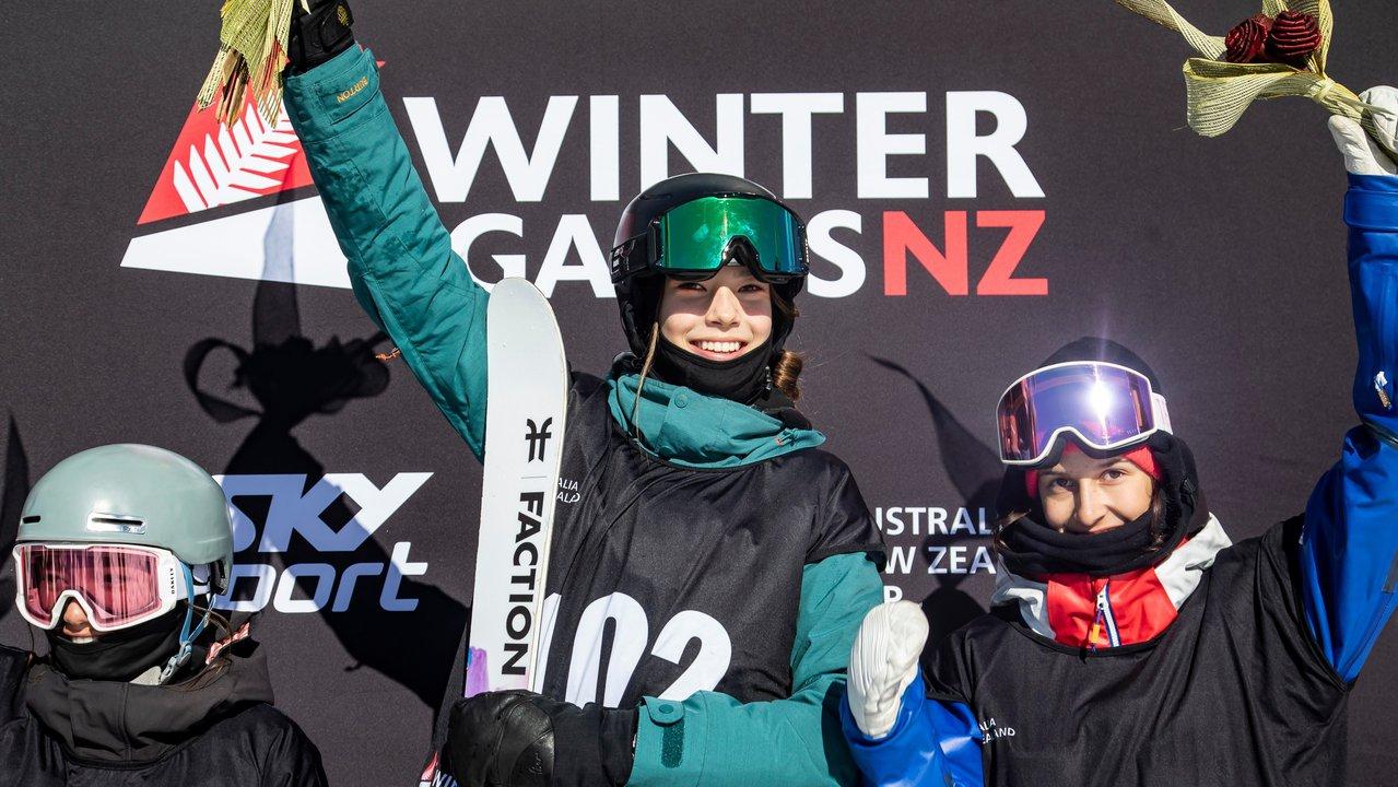 Eileen Gu Joins Faction Skis & Red Bull