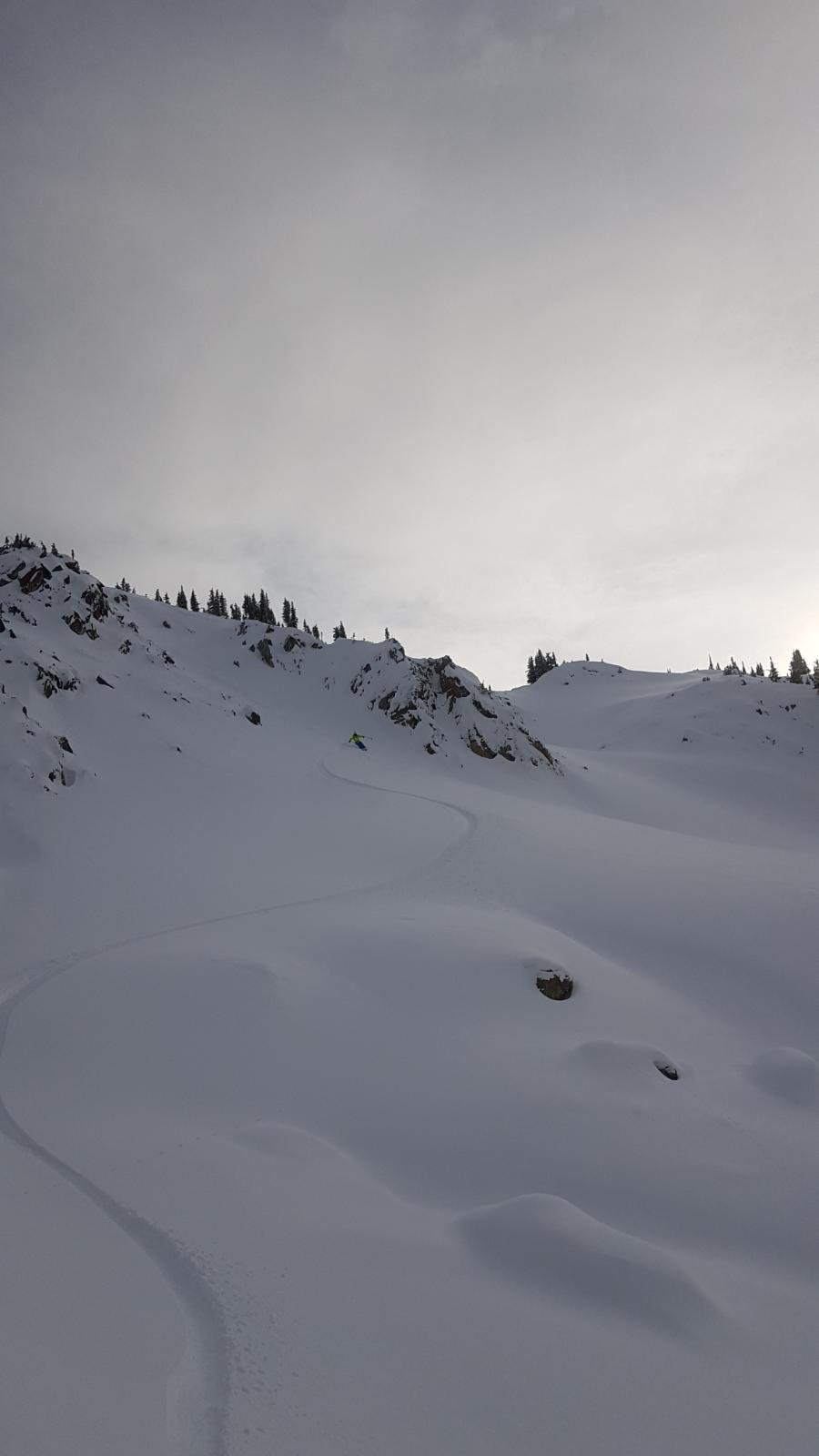 First Day Sled Skiing 19/20