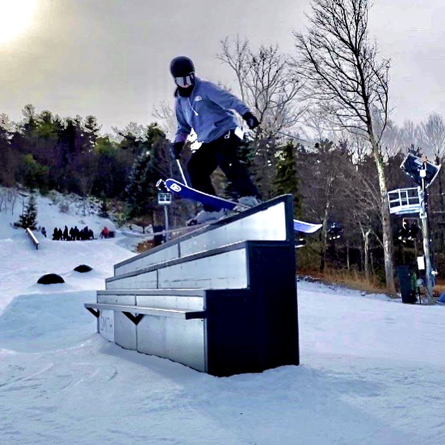 Rail Slide @bigboulder
